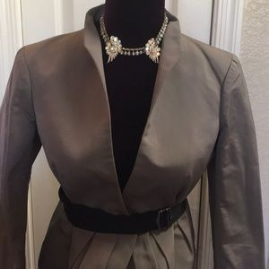VALENTINO Silk Polyamide Fitted  Jacket PERFECT 4